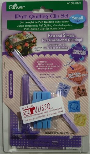 Clover 8400 Puff Quilting Clip Set