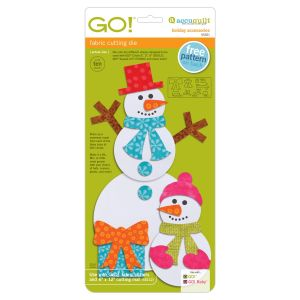"Fustella accuquilt Go 55321 holiday accessories 6""x12"""
