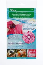 Clover 8462 Flower Frill Templates Mini & Extra Small Sizes