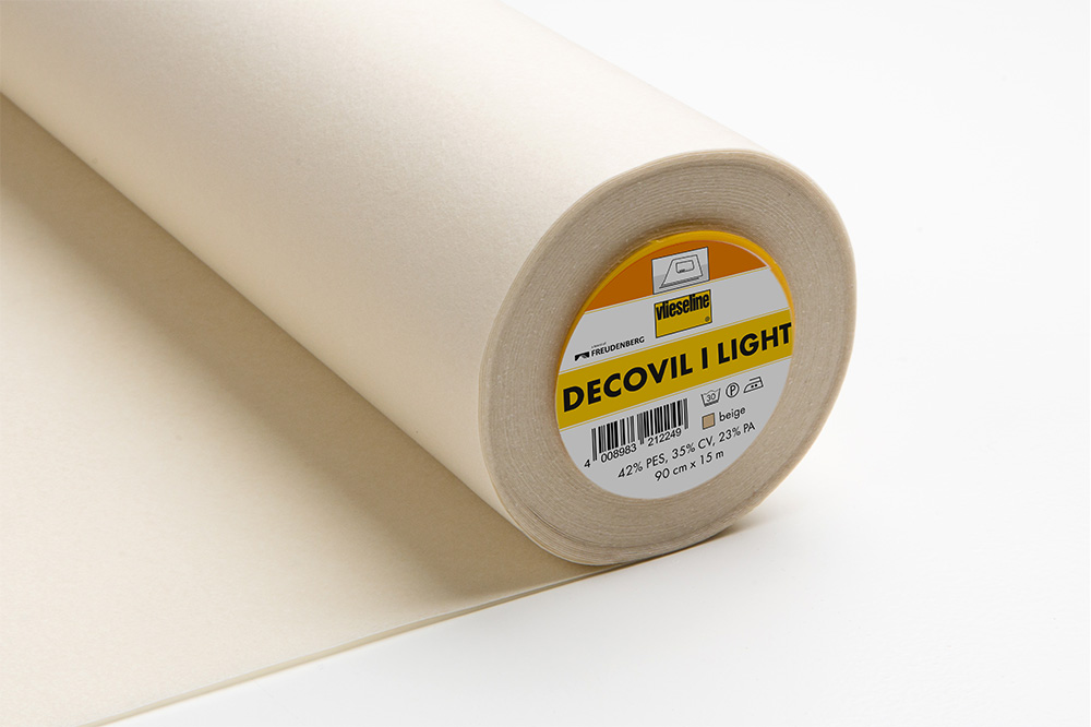 Freudenberg Decovil I light beige 50x90cm. Interf. adesiva 1lato