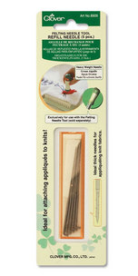 Clover 8906 Felting Needle Tool Refill Heavy