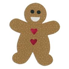 660176 Fustella Bigz L gingerbread man Sizzix Big Shot