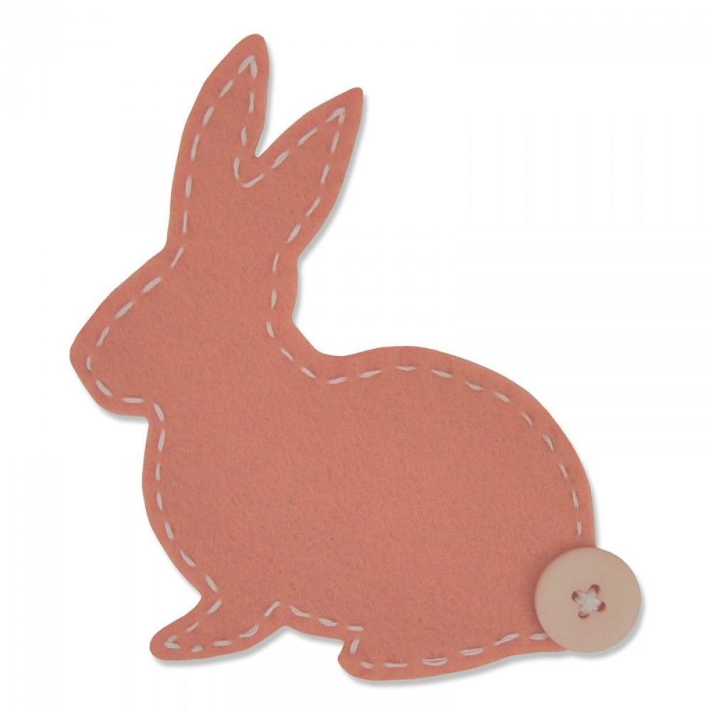 661170 Fustella lovable bunny Sizzix Big Shot